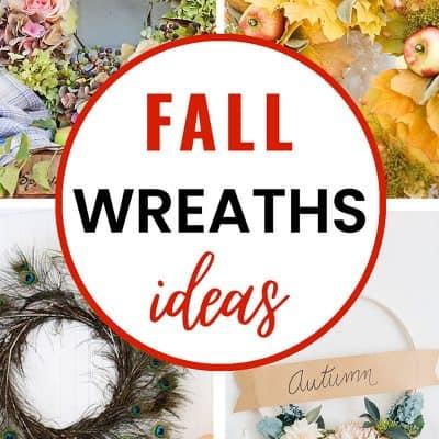 fall wreaths ideas to diy