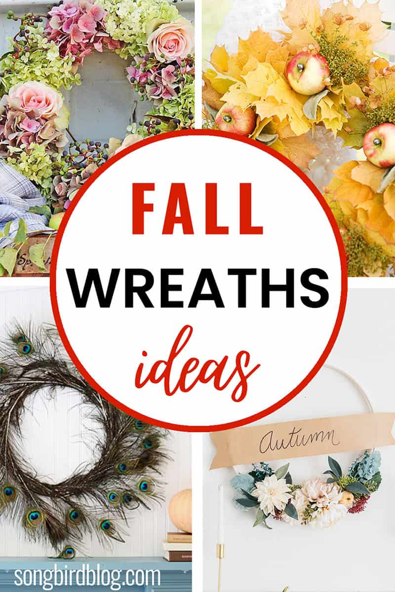 fall wreaths ideas to diy