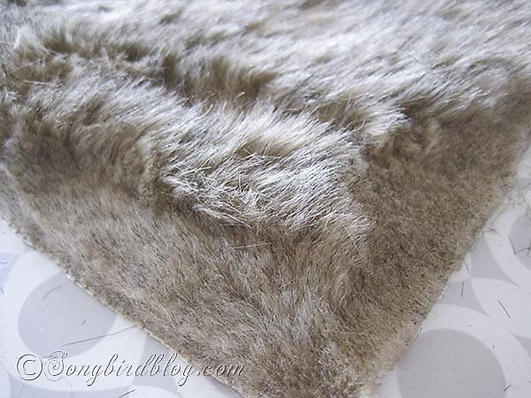faux fur pillows via Songbirdblog 9