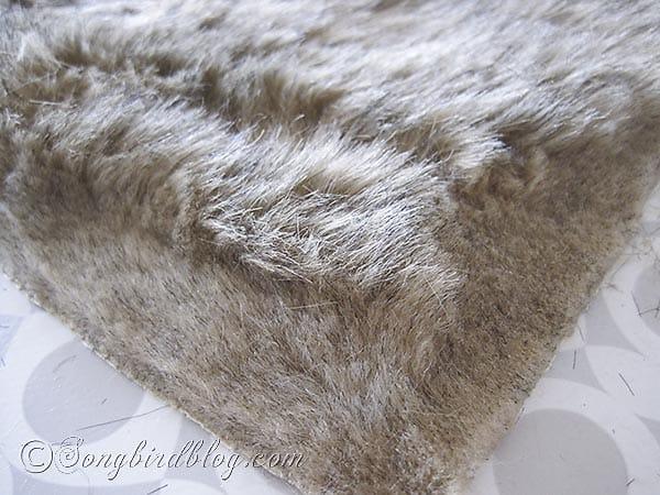 faux fur pillows via Songbirdblog 9