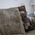 How to Sew Faux Fur Pillows Tutorial