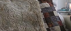 how to sew faux fur pillows (6)