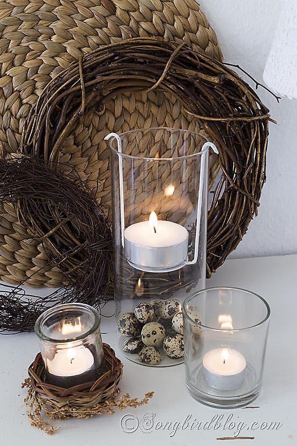how to make a floating tea light holder songbird. Black Bedroom Furniture Sets. Home Design Ideas
