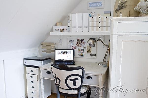 home office  Reveal Songbirdblog