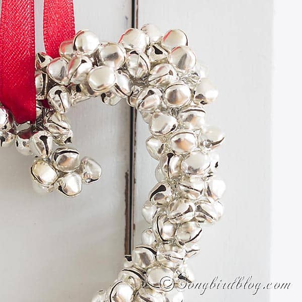 jingle bells ornament heart