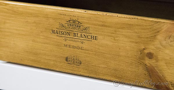 how to make a vintage looking wine crate
