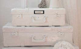 How to Paint Suitcases