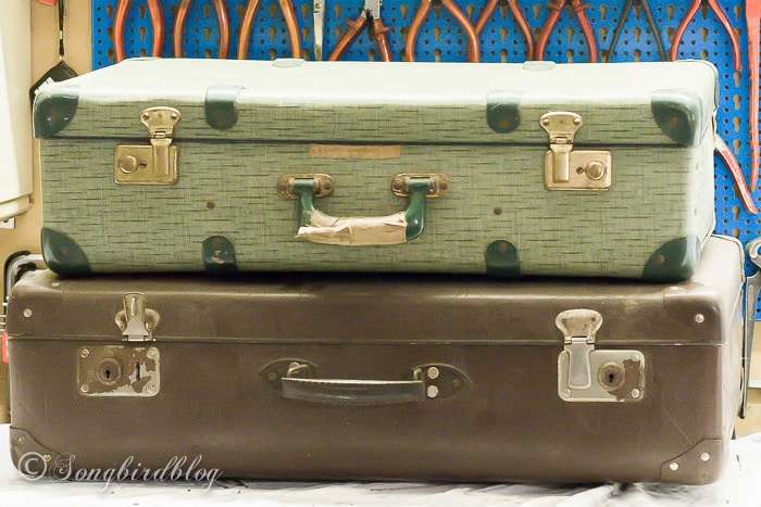 How To Paint And Decorate With Suitcases In Five Easy Steps