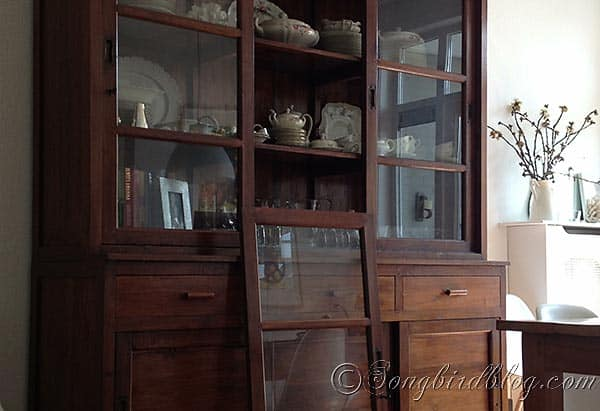 hutch makeover project before