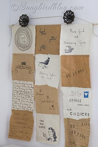 inspirational words Songbirdblog 2
