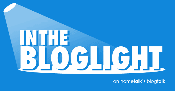 Hometalk in the Bloglight button