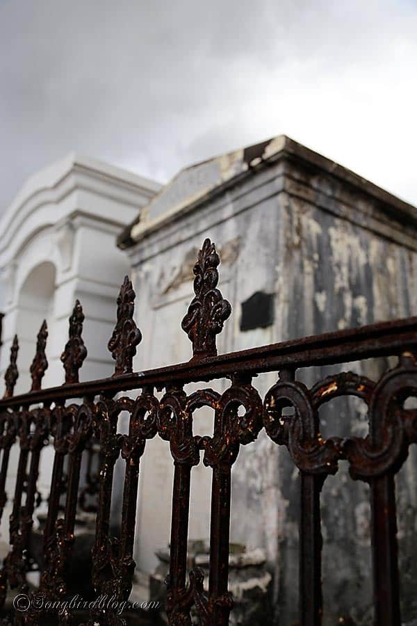 iron gate cemetary New Orleans