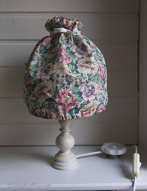 lamp makeover before