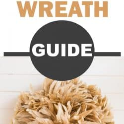 feather wreath with guide overlay