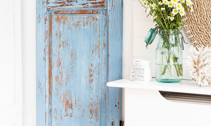 milk paint door makeover french enamel-1