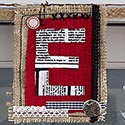 mixed media Noel Christmas banner thumb 125