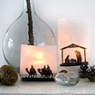nativity silhouette candle display Songbird blog thumb