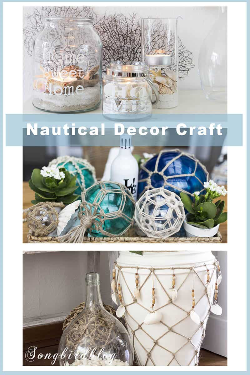 nautical home decor ideas craft projects