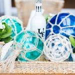 Glass Fishing Buoys DIY Nautical Decor