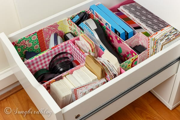 Delicieux Office Drawer Organizing. A DIY Project Using Old Boxes. Free, Easy And So