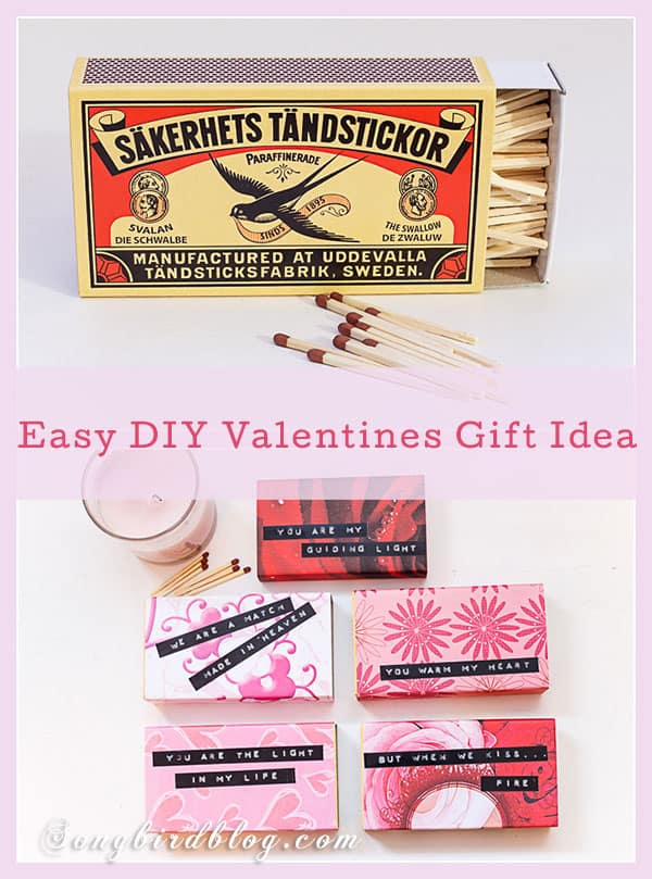 Quick and easy Valentines gift idea that will warm anybody's heart!