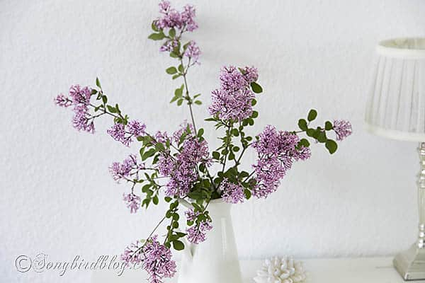 pink lilac bouquet via Songbirdblog