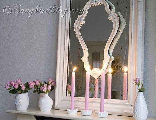 plaster cupcake candle holder