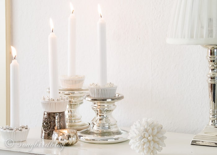 plaster cupcake candle holders-4