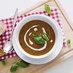 roasted vegetable soup recipe thumb