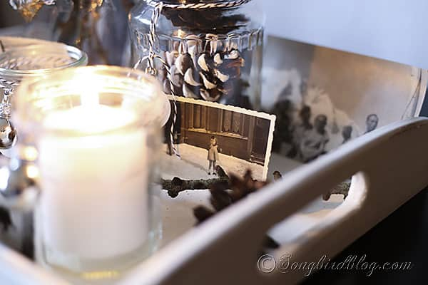 easy Christmas decorating candle lights display (3)