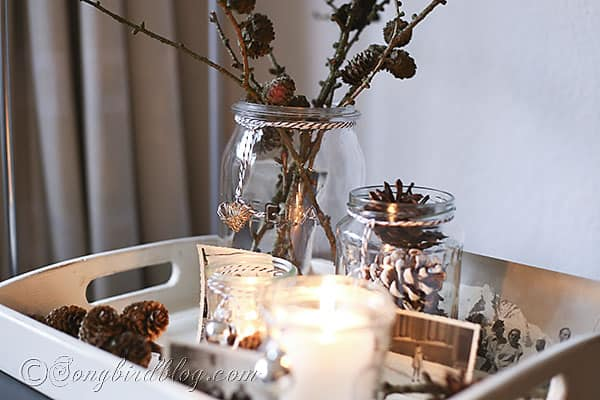 easy Christmas decorating candle lights display (2)