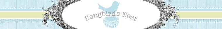 songbirds nest shop vintage flea market treasures