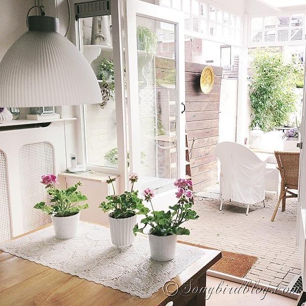 summer living room songbird blog