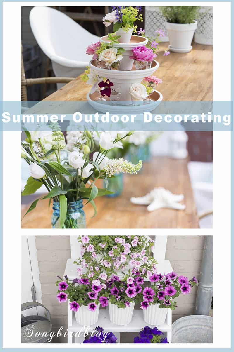 nautical home decor ideas summer garden decorating