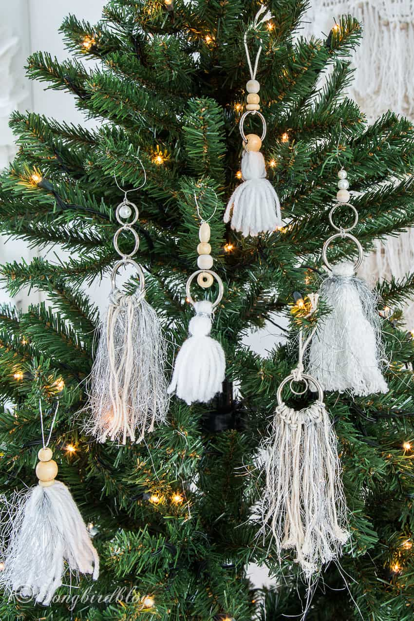 tassel ornaments diy