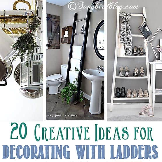 thumb 20 ideas for decorating with ladders
