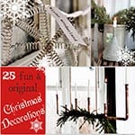 25 Fun & Original Christmas Decorating Ideas