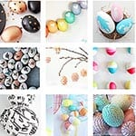 40 Inspirational and Beautiful Easter Egg Decorating Ideas