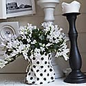 thumb Spring mantel in black and white with a layered photo frame wall 1