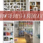 thumb Tips for how to dress a bookcase