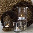 thumb floating tea light holder