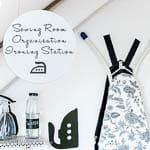 Sewing Room Organization: Ironing Station