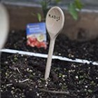 vegetable garden, square foot, garden markers, labels