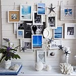 Summer Beach Mantel