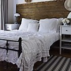 thumb white vintage crochet blanket bedroom