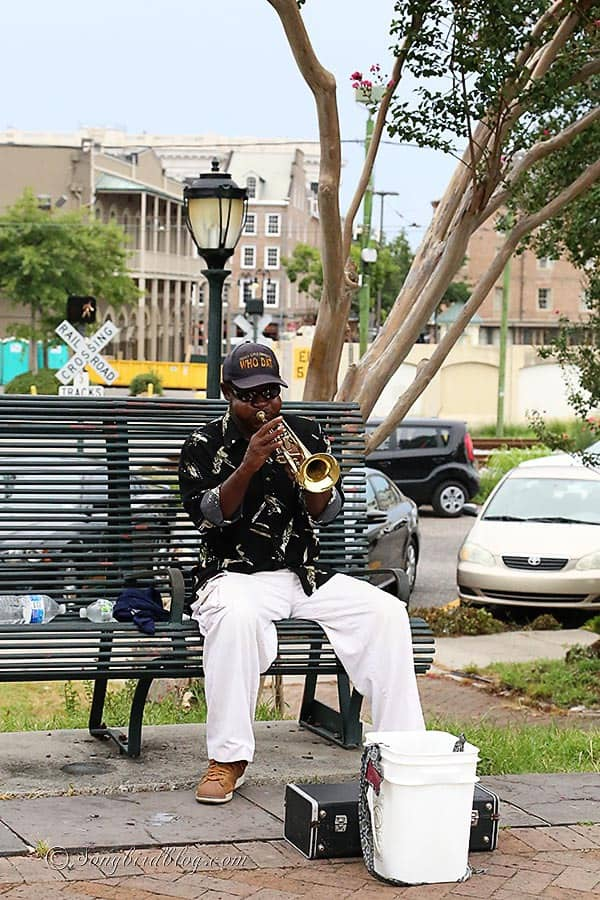 trumpet player New Orleans