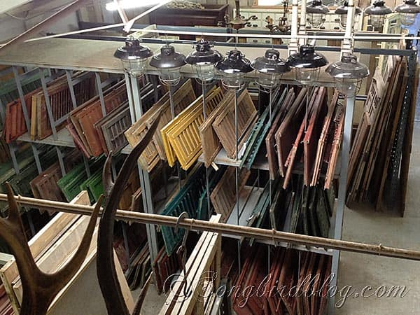 vintage wooden blinds for sale