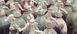 vintage water bottles