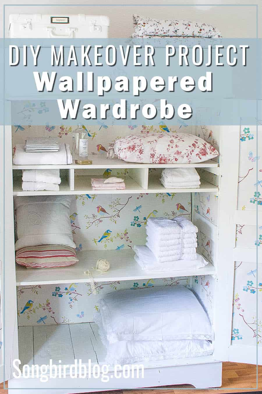 DIY makeover Wardrobe