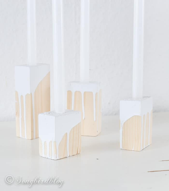 wood blox candle sticks-2